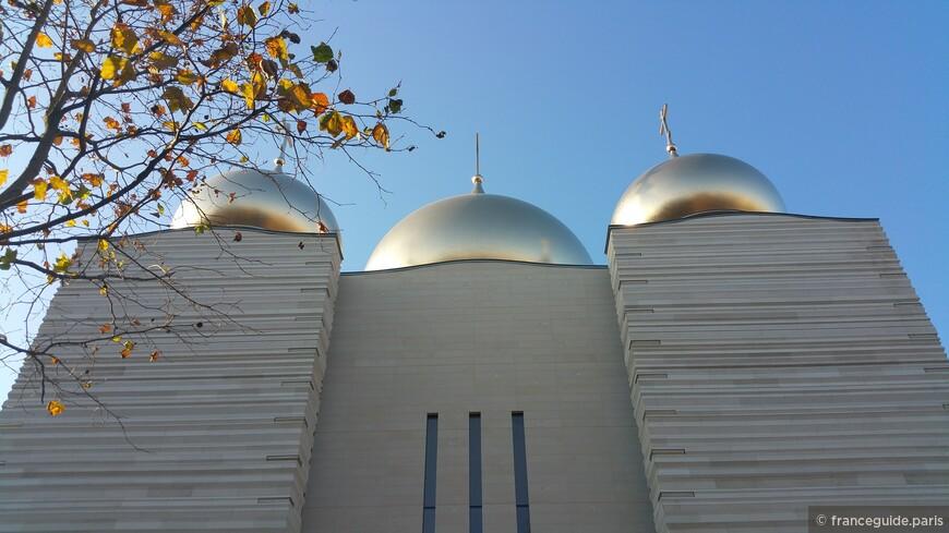 новы православный собор в Париже