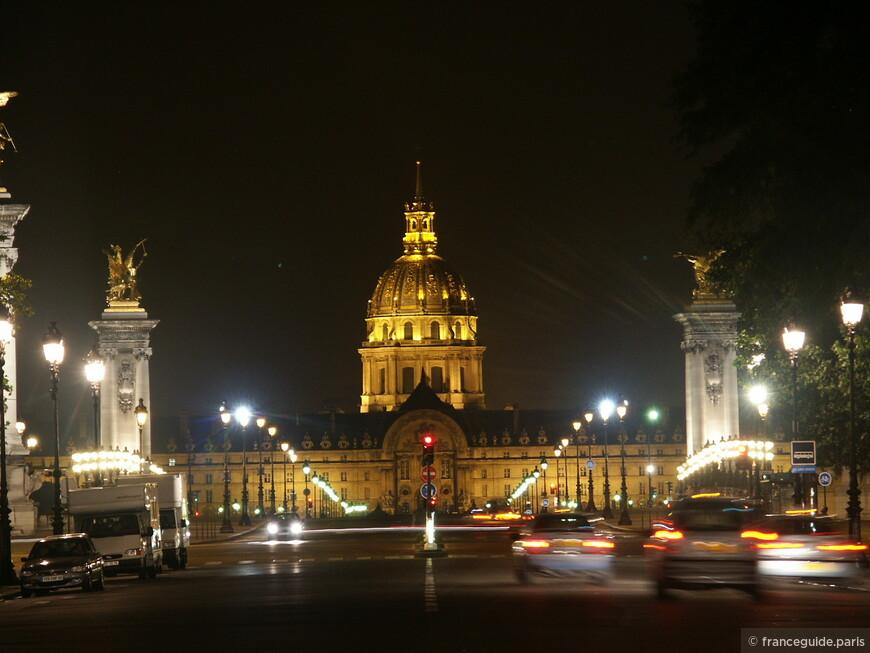 мост Александра III-го и Дом Инвалидов (музей Армии)