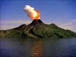 В Индонезии началось мощное извержение вулкана