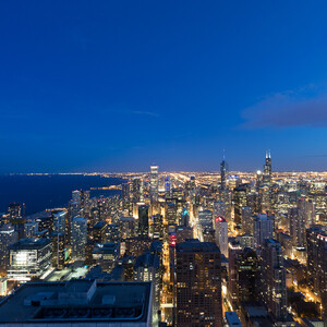 Чикаго с высоты