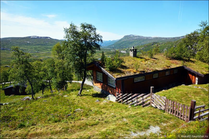 И снова так полюбившиеся мне домики с травяной крышей.