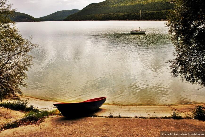 Озеро Абрау.