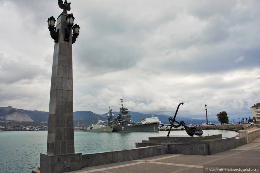 Морские ворота Новороссийска.