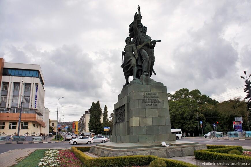 Памятник воинам-освободителям.