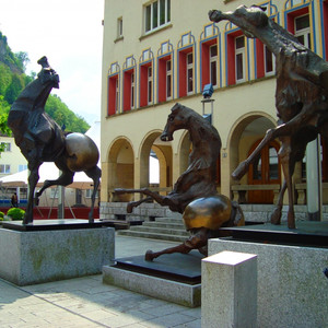 Вадуц--столица Лихтенштейна