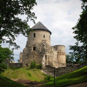 Цесис - один из красивейших городов Латвии.