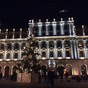 Рождественское убранство в Лондоне