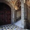 Золотая лестница дворца Дожей в Венеции.