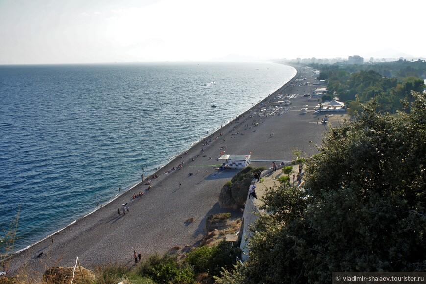 Пляж Коньялты.