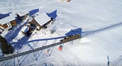 Фуникулёр с наибольшей крутизной подъёма в мире открывается в Швейцарии