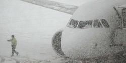 В крупнейшем аэропорту Германии отменены 170 рейсов из-за снегопада