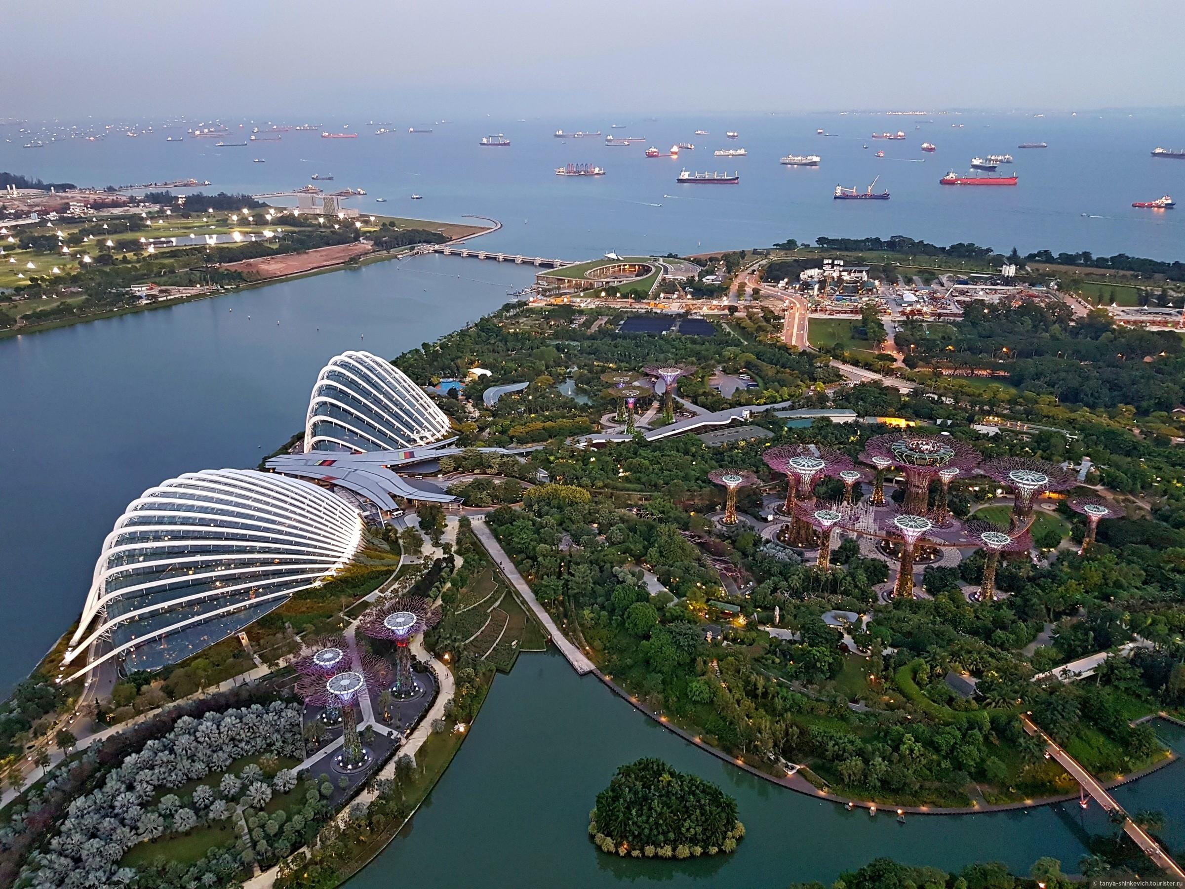 туризм все о сингапуре фото бухта, уютный