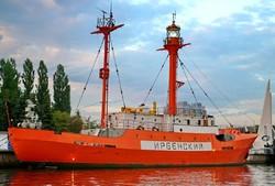 В Калининграде плавучий маяк стал музеем