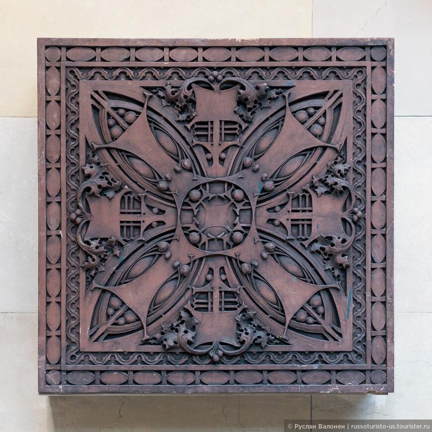 Декоративная панель. (Л. Салливан, 1905 г.)