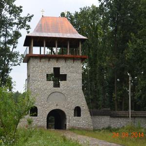 Необычный монастырь в Бричанах