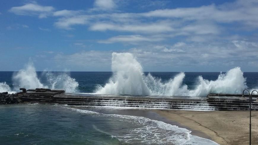 Тенерифе - это океан: безумный, бушующий, безудержный. стихия.