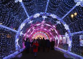 Москва новогодняя. Продолжение