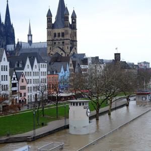 Наводнение в Кельне — 2018