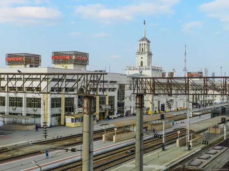 Ж/д вокзал Краснодара © Наталия Семчина