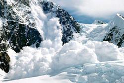 """Во французских Альпах объявлен """"красный"""" уровень лавиноопасности"""