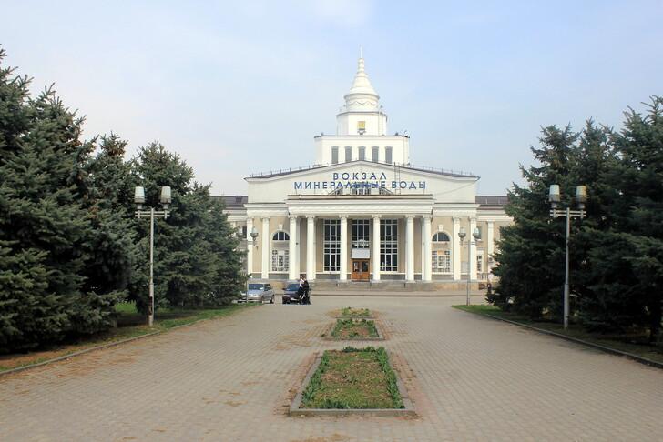 ЖД вокзал Минеральных Вод © andrey.petrosyan
