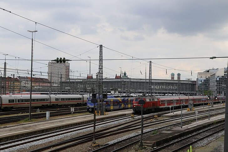 Ж/д вокзал Мюнхена © Rufus46o