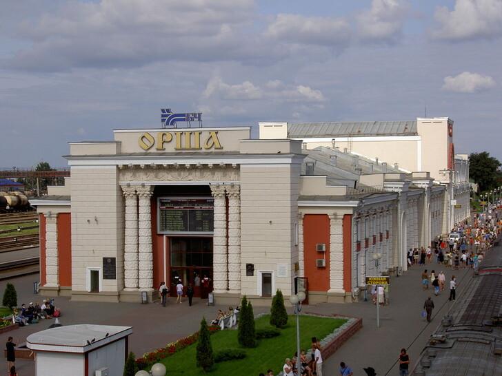 Ж/д вокзал в Орше © Dinamik