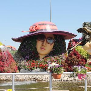 Парк цветов и бабочек в Дубае