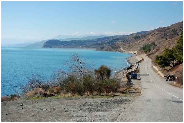 Крымская дорога Судак – Алушта