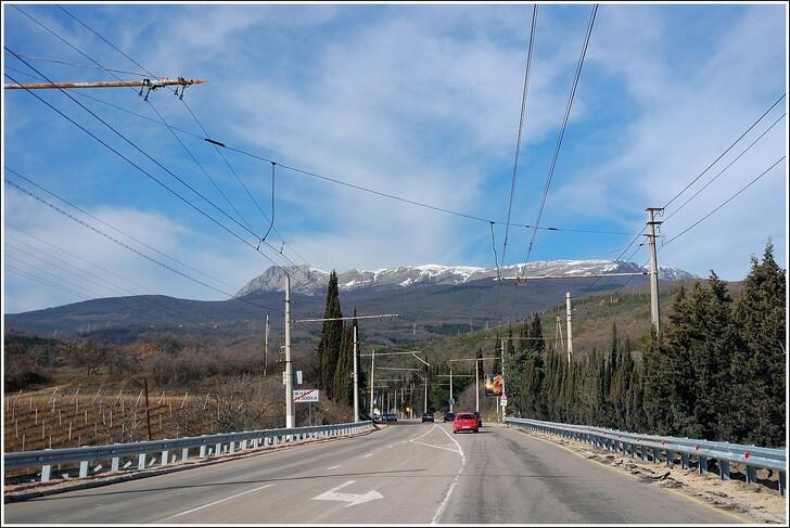 Нижняя Кутузовка — горы по дороге из Алушты в Симферополь © Maksim Starostin