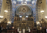 Внутреннее убранство Русской церкви в Ницце, красота!