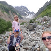 поход к леднику Чалаади, Сванетиа