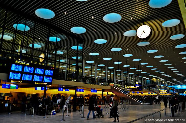 Аэропорт Копенгагена. Фото: © Hëamon