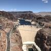 Плотина, или Дамба Гувера (Hoover Dam) в Чёрном Каньоне реки Колорадо (Black Canyon of the Colorado)