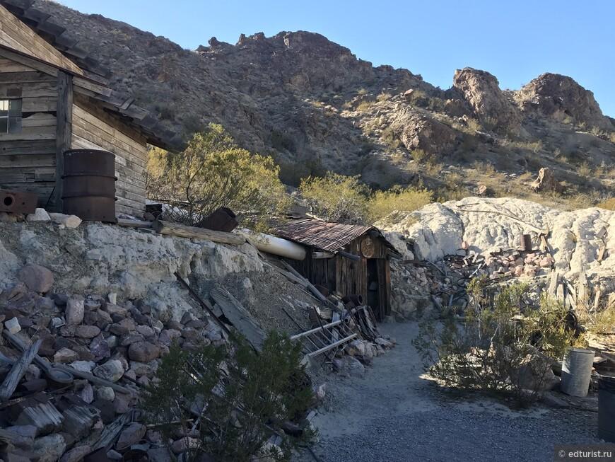 Вход на шахту Золотого рудник Techatticup Mine