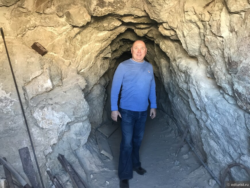 Идём на экскурсию в шахту Techatticup Mine