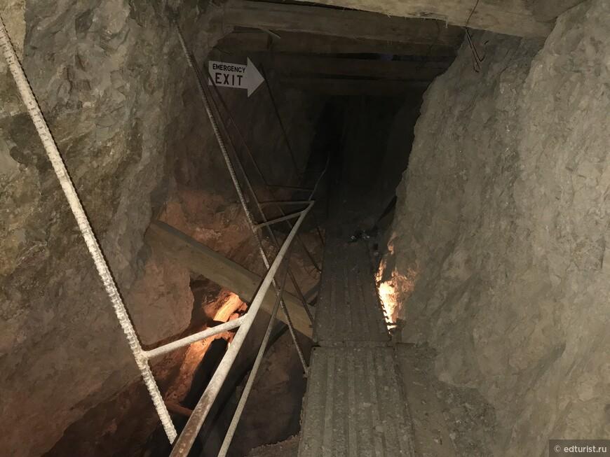 Экскурсия в шахте Techatticup Mine