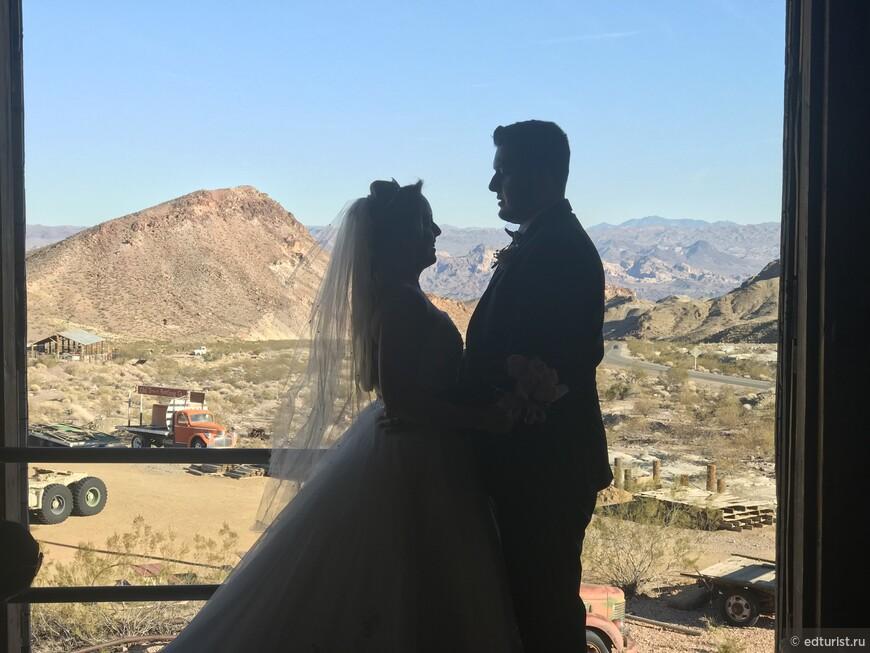 Свадьба в атмосфере Дикого Запада и Золотой лихорадки