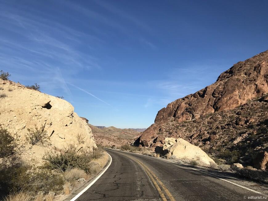 Каньон Эльдорадо (El Dorado Canyon, Nevada)
