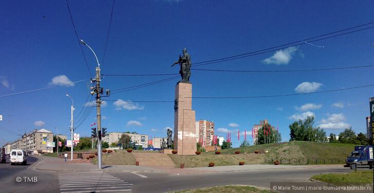 Мемориал Героям фронта и тыла, Иваново © Marie Toum