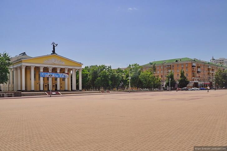 Городская площадь Белгорода © Igor Butyrskii