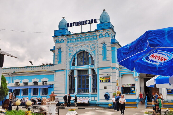 Автовокзал Туапсе © Igor Butyrskii