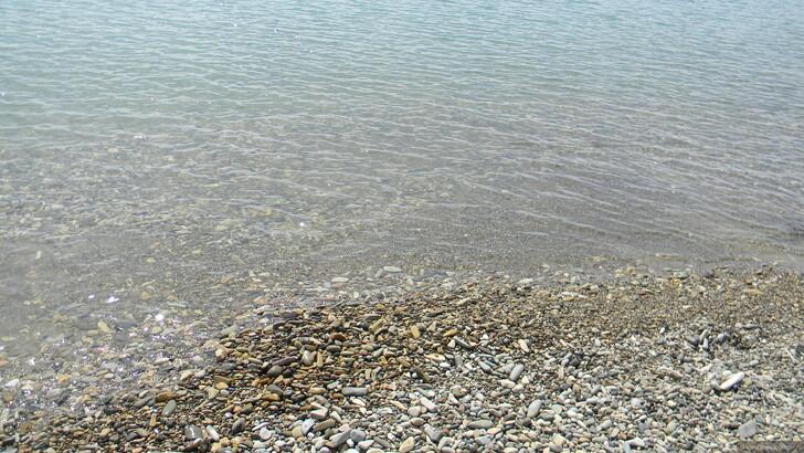 Галечный пляж в Лермонтово © Елена Носова