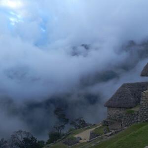 Туман затерянного города. Утренний Мачу Пикчу