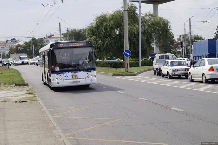 Городской автобус в Краснодаре © Владислав Кузнецов