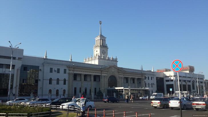 Ж/д вокзал Краснодара © Svetlana Vorobyeva