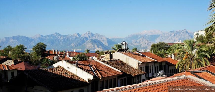Крыши Старого города.