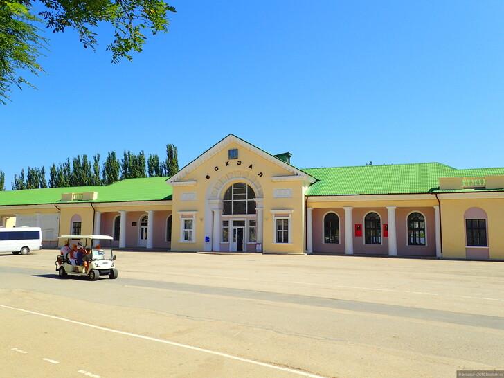 Вокзал в Феодосии © Владимир