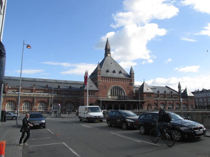 Центральный вокзал Копенгагена © Андрей