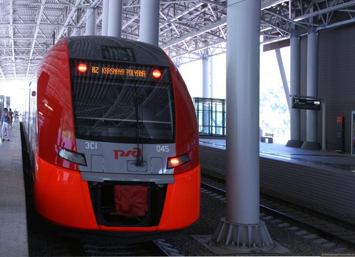 Поезд «Ласточка» © Женя Пьянова
